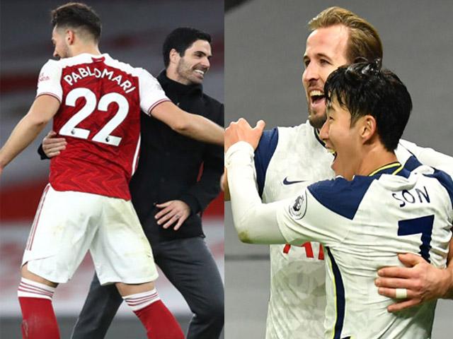"""Soi trận hot nhất hôm nay: Arsenal """"dễ thở"""" hơn Tottenham, Real quyết chiếm ngôi đầu"""