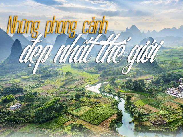 Việt Nam lọt top những phong cảnh đẹp nhất thế giới