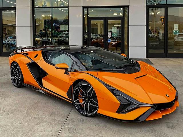 Siêu phẩm Lamborghini Sian đầu tiên xuất hiện tại Bắc Mỹ