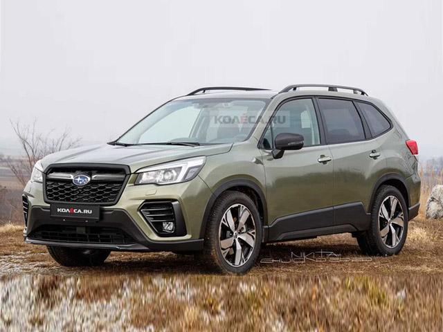 Xem trước thiết kế Subaru Forester 2022, nhiều thay đổi đáng chú ý