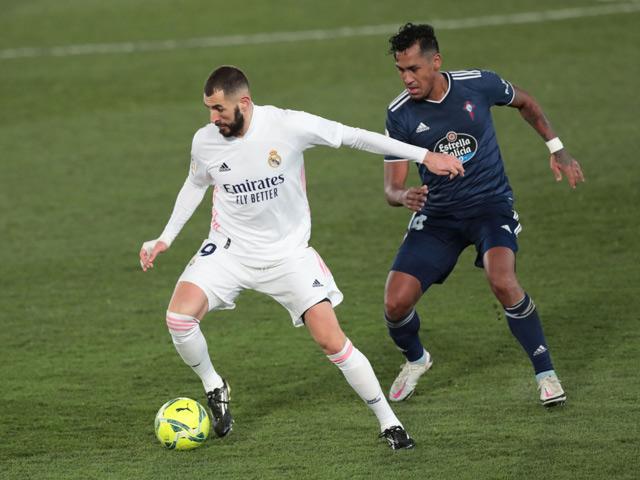Video Real Madrid - Celta Vigo: Mở điểm chóng vánh, đánh chiếm ngôi đầu