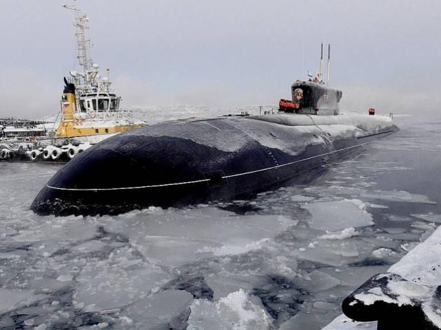 Tàu ngầm hạt nhân Nga sở hữu tên lửa có sức công phá mạnh nhất nhì thế giới