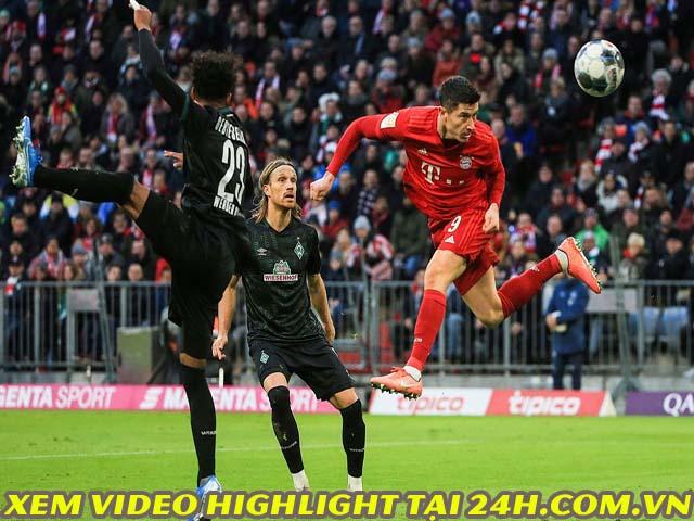 Video Bayern Munich - Mainz: Lewandowski cú đúp, ngược dòng thần thánh