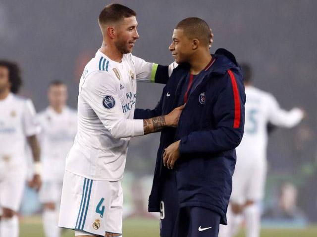 Real Madrid nhận 2 tin sét đánh: Bị Mbappe từ chối, nguy cơ mất trắng Ramos