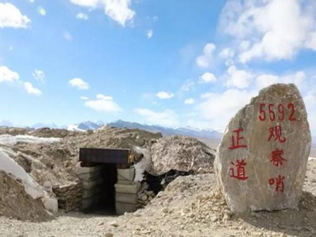 Lộ diện căn cứ Trung Quốc ở điểm cao nhất giáp biên giới Ấn Độ