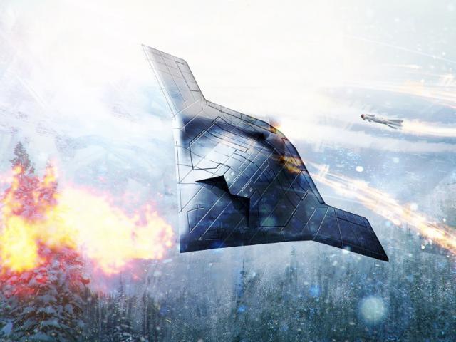 Máy bay không người lái có thể diệt tàu sân bay, tấn công từ trong bóng tối