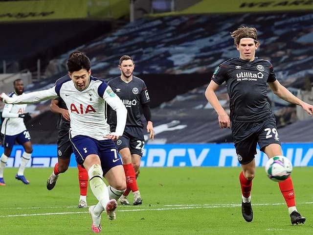 Video Tottenham - Brentford: Son Heung Min tỏa sáng, tiếc nuối vì VAR