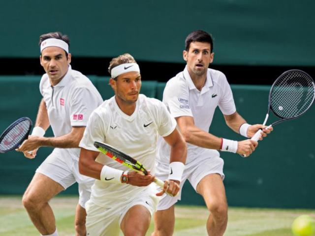 """Djokovic sắp xô đổ kỷ lục """"khủng"""" Federer, Nadal phá """"bữa tiệc"""" như thế nào?"""