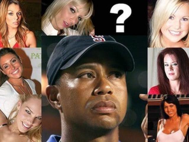 """""""Chuyện yêu"""" kỳ lạ của Tiger Woods: Từng 10 cô 1 lần, thích mỹ nhân tóc vàng"""