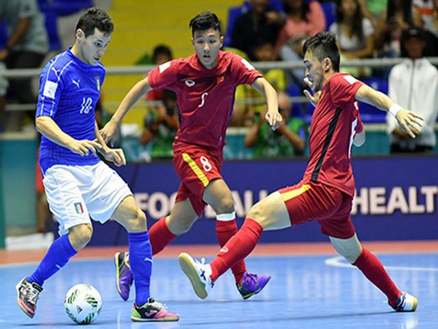 Bóng đá Việt Nam hồi hộp chờ vé dự World Cup dành cho đội tuyển futsal