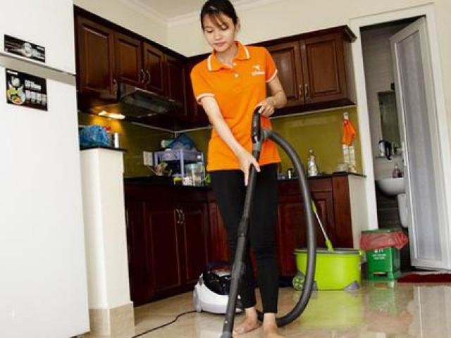 Nở rộ dịch vụ người giúp việc Tết ở Hà Nội giá 500.000 đồng/người/ngày