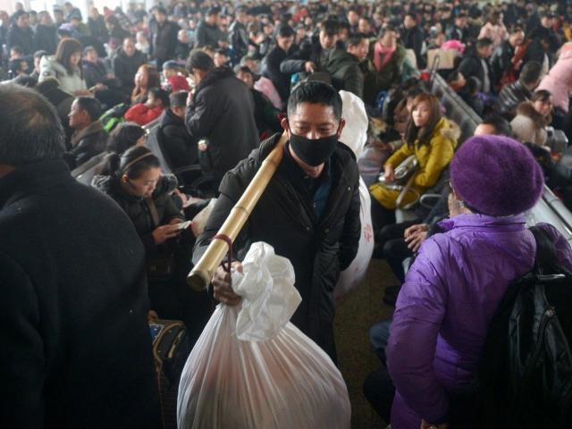 Trung Quốc khuyến cáo người dân hạn chế về quê dịp Tết Nguyên đán