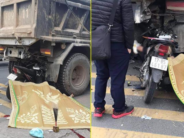 Xe máy kẹp 3 đâm vào đuôi xe tải, 2 người tử vong