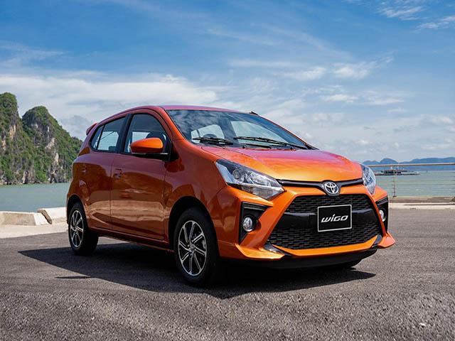 Giá xe Toyota Wigo lăn bánh tháng 01/2021