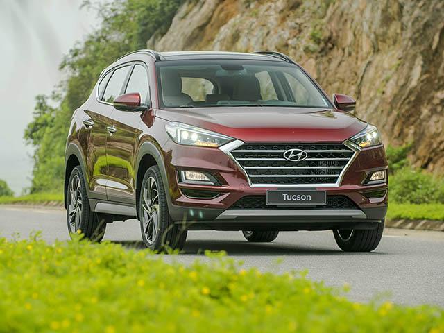 Giá xe Hyundai Tucson lăn bánh tháng 01/2021