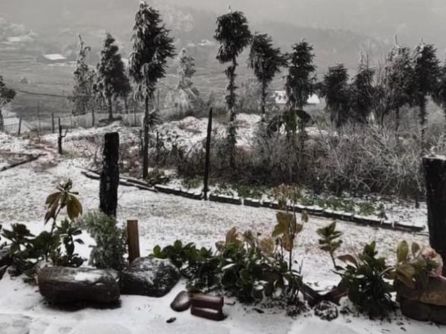 Clip: Tuyết đang rơi trắng xóa ở Y Tý