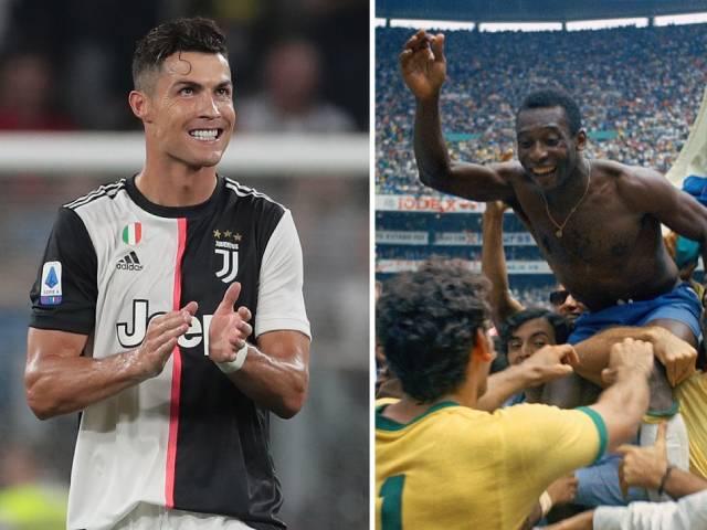 Ronaldo ghi bàn như máy: Đá tới bao nhiêu tuổi mới có 1238 bàn như Pele?