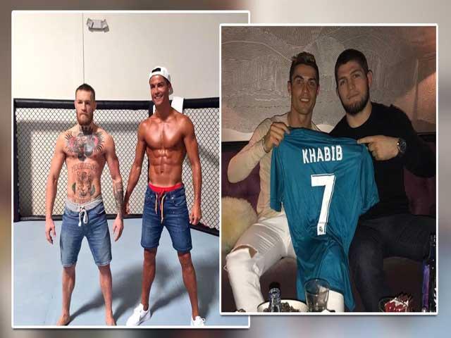 """""""Ông trùm"""" Ronaldo và quan hệ đặc biệt với Khabib, McGregor"""