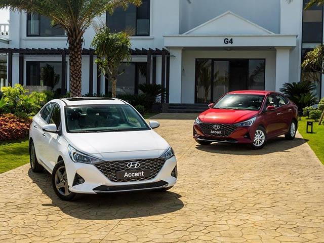 Hyundai Accent vượt mốc hơn 3.200 xe trong tháng 12/2020 tại Việt Nam