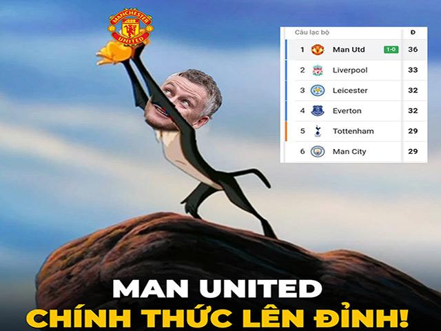 """Ảnh chế: Man Utd """"lên đỉnh"""" ngoại hạng Anh, fan mơ chức vô địch"""