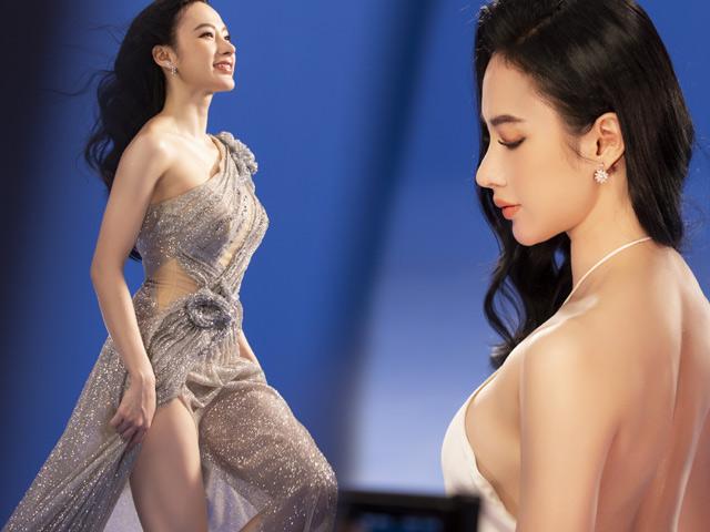 Angela Phương Trinh mặc áo yếm, ngực lấp ló khoe khí chất nữ thần