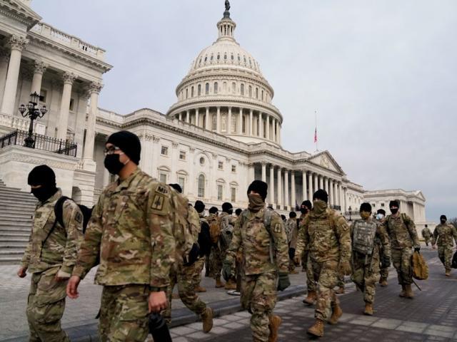 Lễ nhậm chức của ông Biden: Lo mầm họa ngay trong lực lượng bảo vệ an ninh