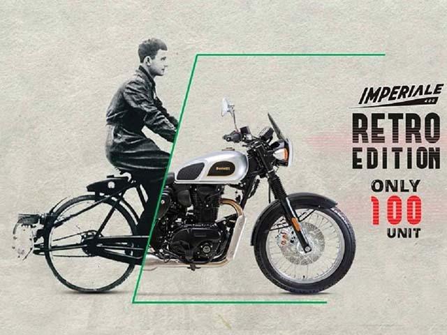 Xế cổ điển Benelli Imperiale 400 Retro Edition trình làng: Giá 107 triệu đồng