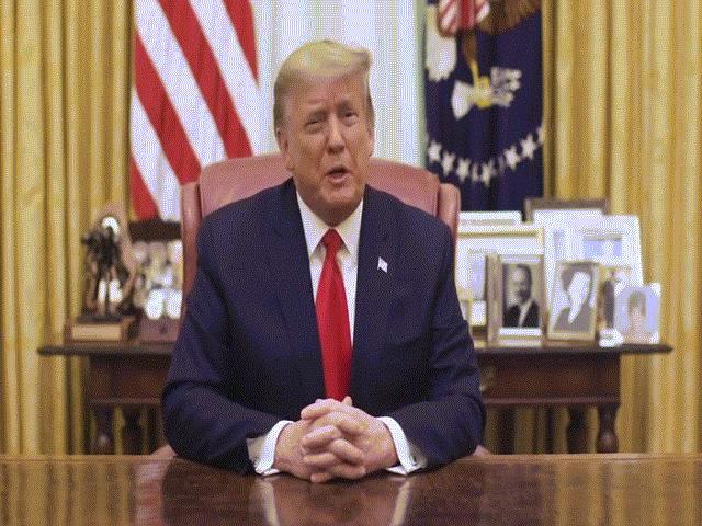 Ông Trump tung video sau khi bị luận tội lần thứ hai