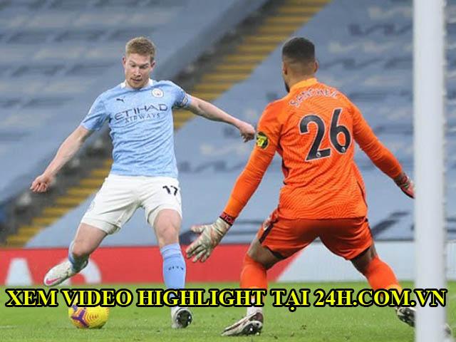 Video bóng đá Man City - Brighton: Bắn phá liên hồi, SAO trẻ rực sáng