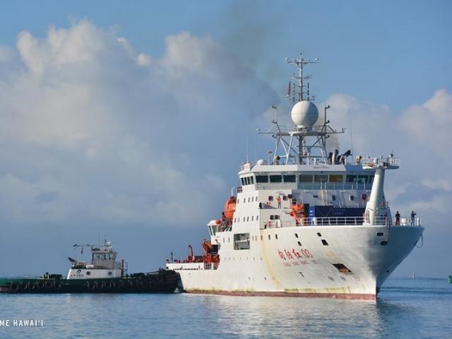 Indonesia phát hiện tàu TQ xâm nhập vùng biển với biểu hiện bất thường