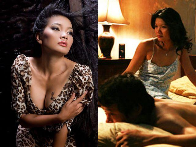 """""""Nữ hoàng cảnh nóng"""" táo bạo nhất phim Việt, khiến bạn diễn nam đỏ mặt khi đóng chung là ai?"""
