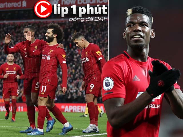 MU đại chiến Liverpool, Pogba nên đá chính hay dự bị? (Clip 1 phút Bóng đá 24H)