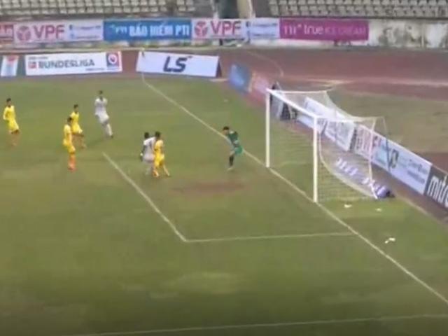 Trực tiếp bóng đá SLNA - Bình Định: Rimario mở tỉ số