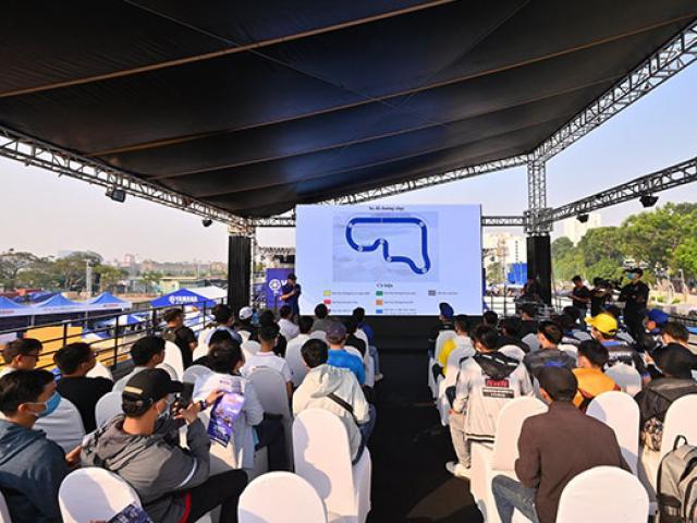 Hàng trăm tay lái Winner X, Satria, Sonic, Raider… đổ xô tới tham dự sự kiện lái thử Exciter 155 VVA của Yamaha
