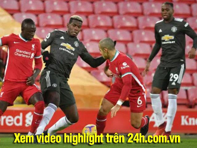 Trực tiếp bóng đá Liverpool - MU: Pogba bỏ lỡ ngon ăn (Hết giờ)