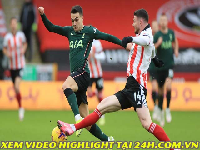 Video Sheffield United - Tottenham: Rực sáng Harry Kane, đe dọa Liverpool
