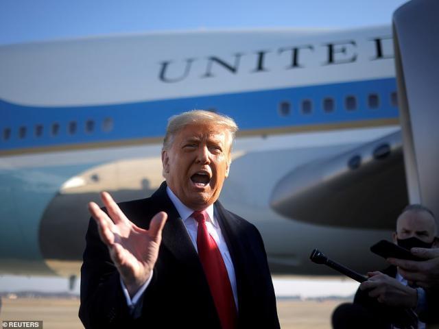 Vé mời tiết lộ kế hoạch lễ chia tay ông Trump ngày cuối cùng làm Tổng thống Mỹ