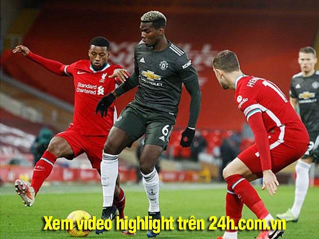 """Video Liverpool - MU: Tiếc nuối một loạt cơ hội, sự xuất thần của """"người nhện"""""""