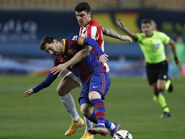 """Video Barcelona - Athletic Bilbao: Rượt đuổi 5 bàn, thẻ đỏ Messi và bàn thắng """"vàng"""" hiệp phụ"""