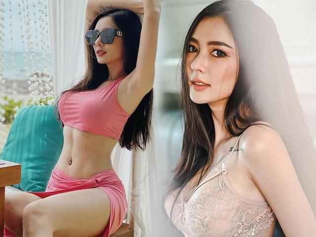 """Hot girl xăm trổ đầy mình được mệnh danh là """"nàng thơ"""" Thái Lan"""