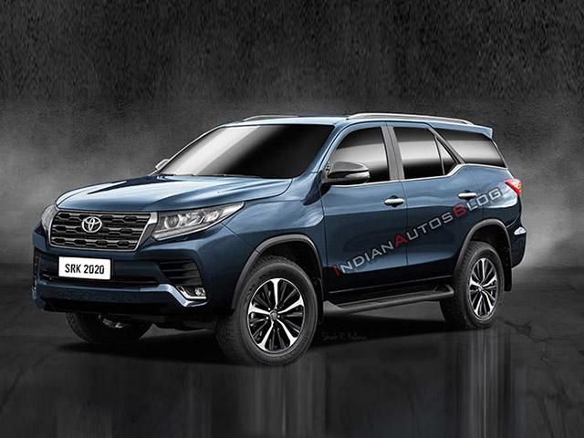 Toyota Fortuner thế hệ hoàn toàn mới sẽ được ra mắt vào năm sau