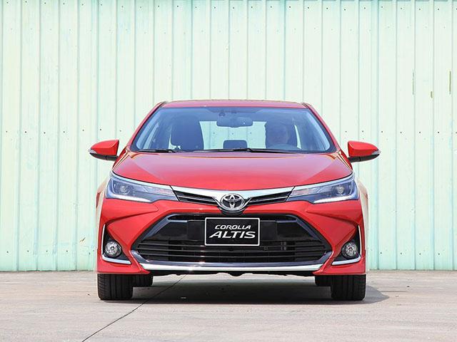 Giá xe Toyota Corolla Altis lăn bánh tháng 1/2021