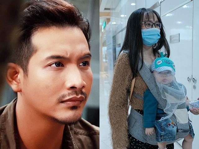 Vợ bế con 9 tháng tuổi đến ủng hộ Lưu Quang Anh ra phim mới