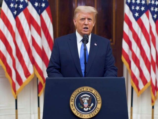 Ông Trump nói lời từ biệt trước ngày rời Nhà Trắng
