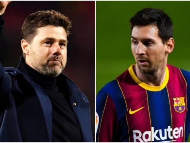 """Messi """"sa lầy"""" ở Barca, Pochettino chèo kéo về PSG đoàn tụ Neymar ra sao?"""