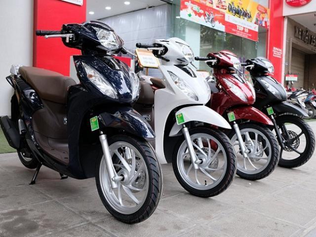 Người Việt Nam ngày càng ít mua xe máy, doanh số lao dốc mạnh