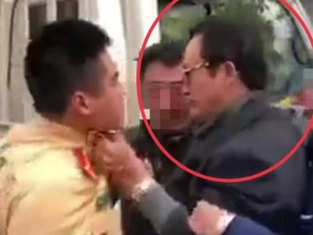 Tin tức 24h qua:Không chịuđo nồng độ cồn, chi cục trưởng túm cổ áo CSGT