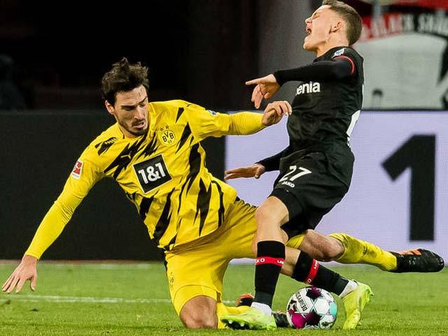 Video Leverkusen - Dortmund: Haaland im tiếng, SAO 17 tuổi định đoạt