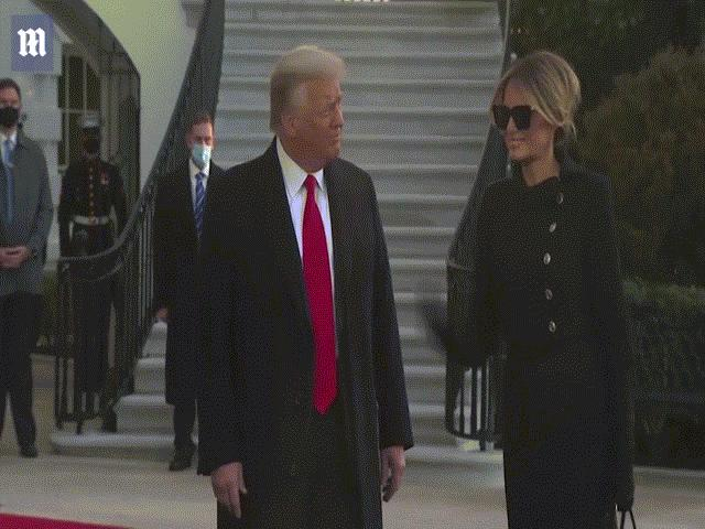 Ông Trump chính thức rời Nhà Trắng, phát biểu bất ngờ về chính quyền Biden