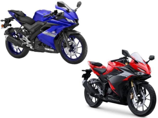 Thích môtô thể thao cỡ nhỏ, chọn Honda CBR150R hay Yamaha R15?